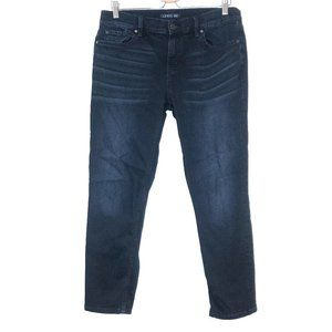 Level 99 dark wash skinny jeans high rise plus 33